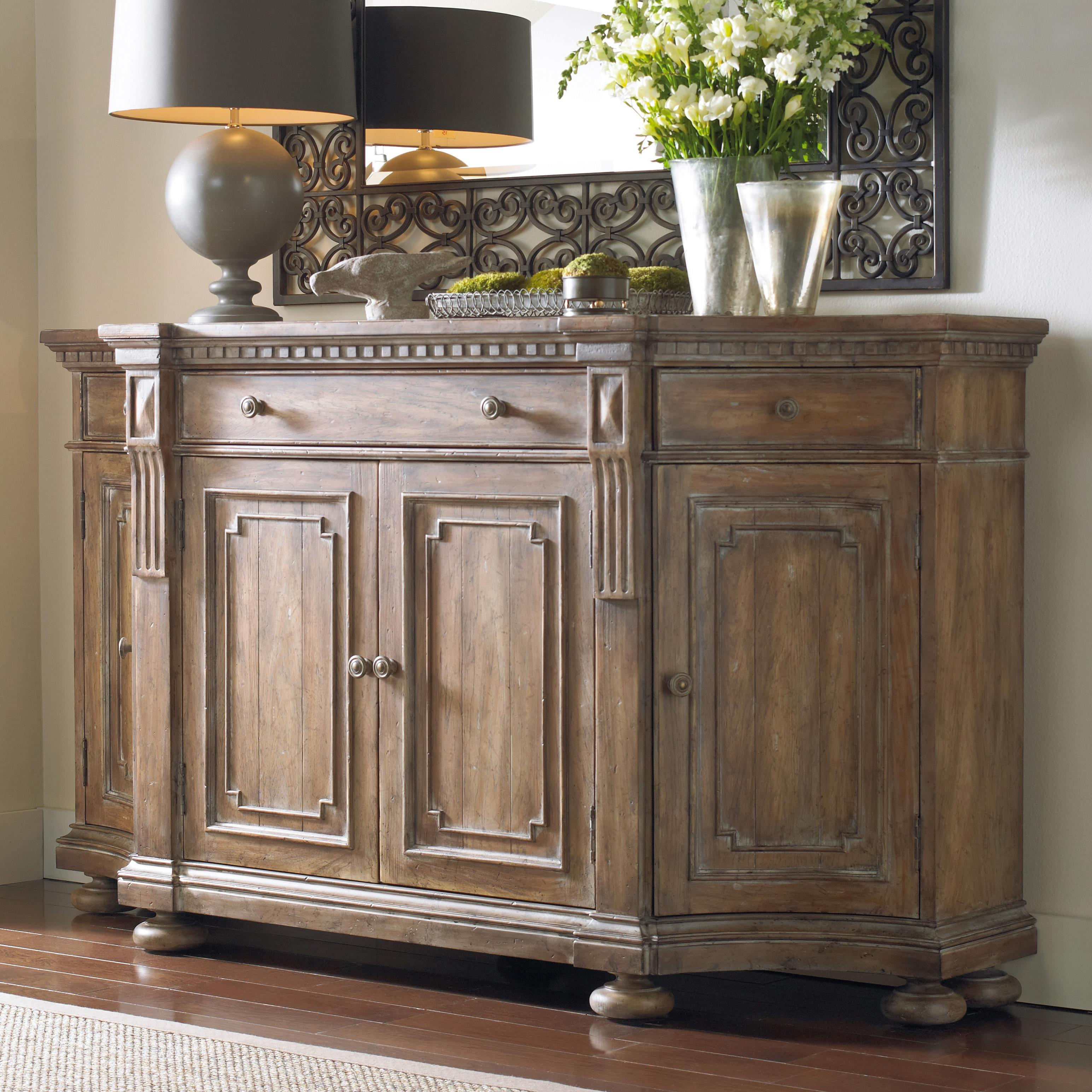 Hooker Furniture Sorella 5107 85001 Shaped Credenza With