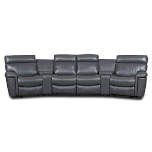 Hooker Furniture SS620 Motion Six Piece Theater Group
