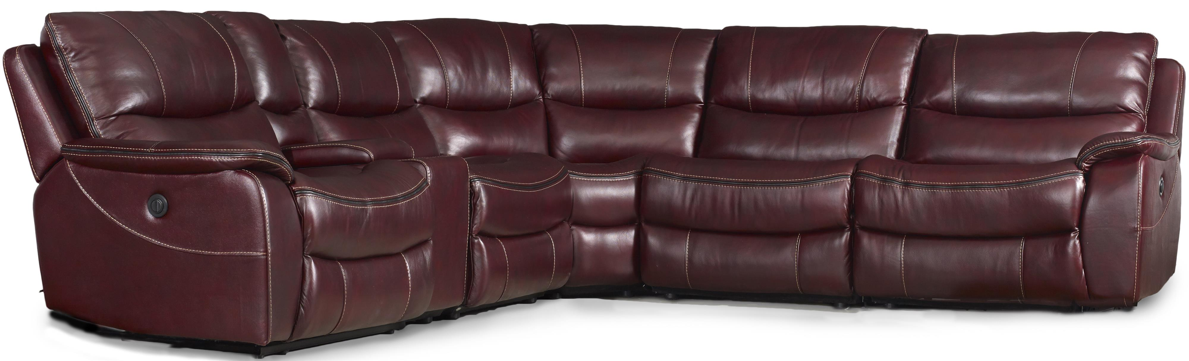 Hooker Furniture Ss624 6 Piece Power Reclining Sectional With Usb .