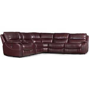 Hooker Furniture SS624 6 Piece Power Sectional