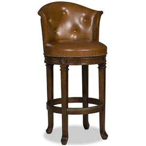 Hooker Furniture Stools Dark Manhattan - Transitional Barstool