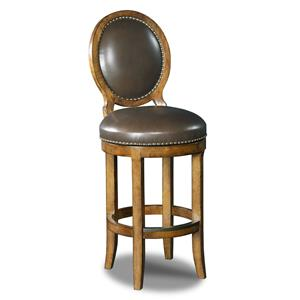 Hooker Furniture Stools Medium Mojito Oval Back Barstool