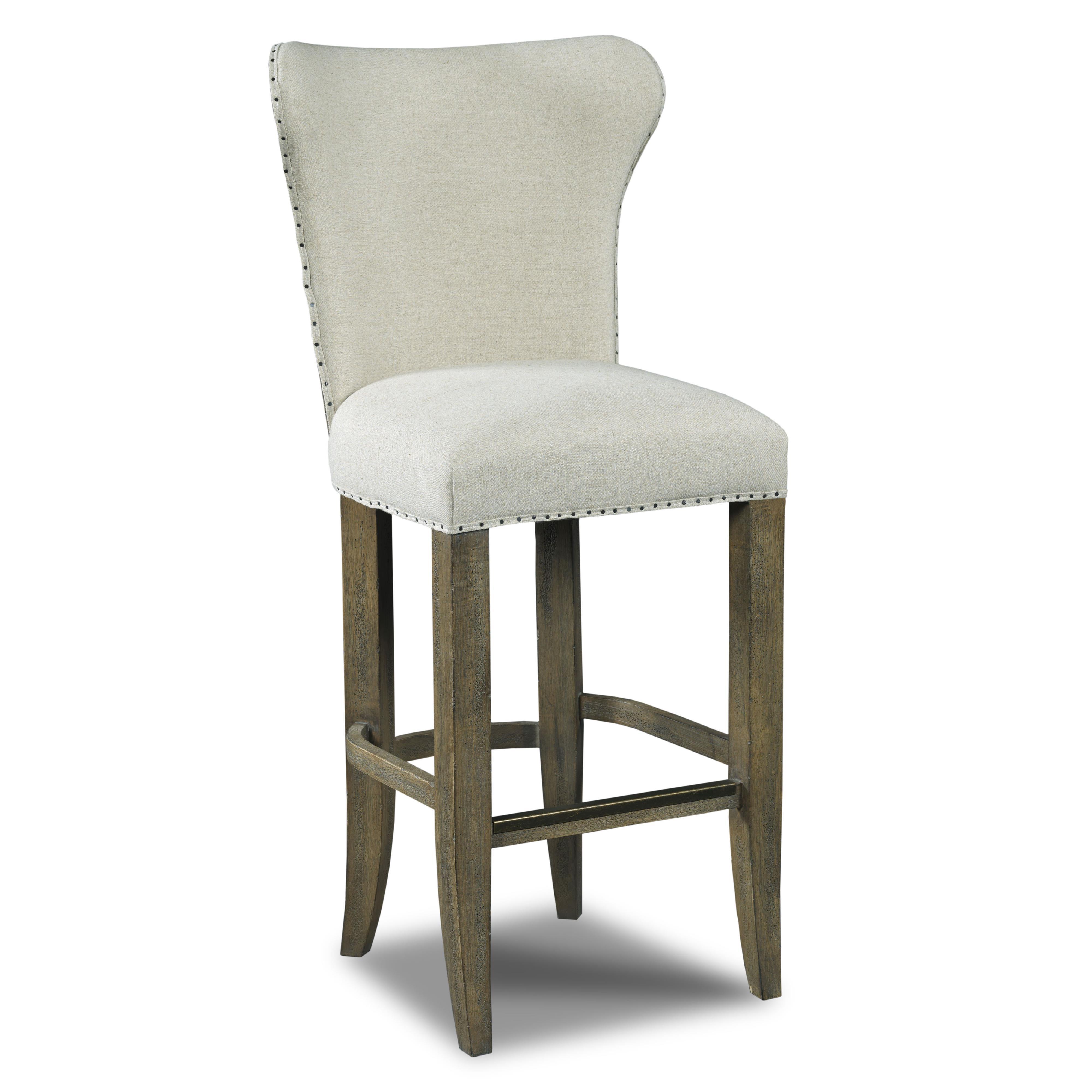 Hooker Furniture Stools Light Rum Runner Deconstructed Barstool - Item Number: 300-20009