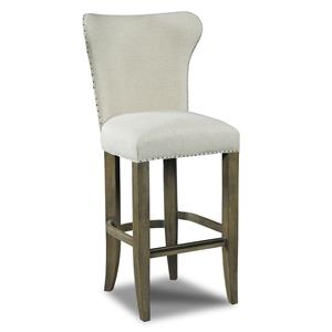 Hamilton Home Stools Light Rum Runner Deconstructed Barstool