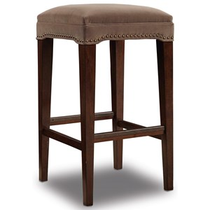 Hooker Furniture Stools Dark Chabli Barstool