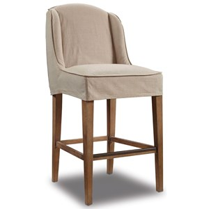 Hooker Furniture Stools Medium Champagne Barstool