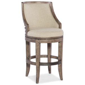 Lainey Transitional Barstool