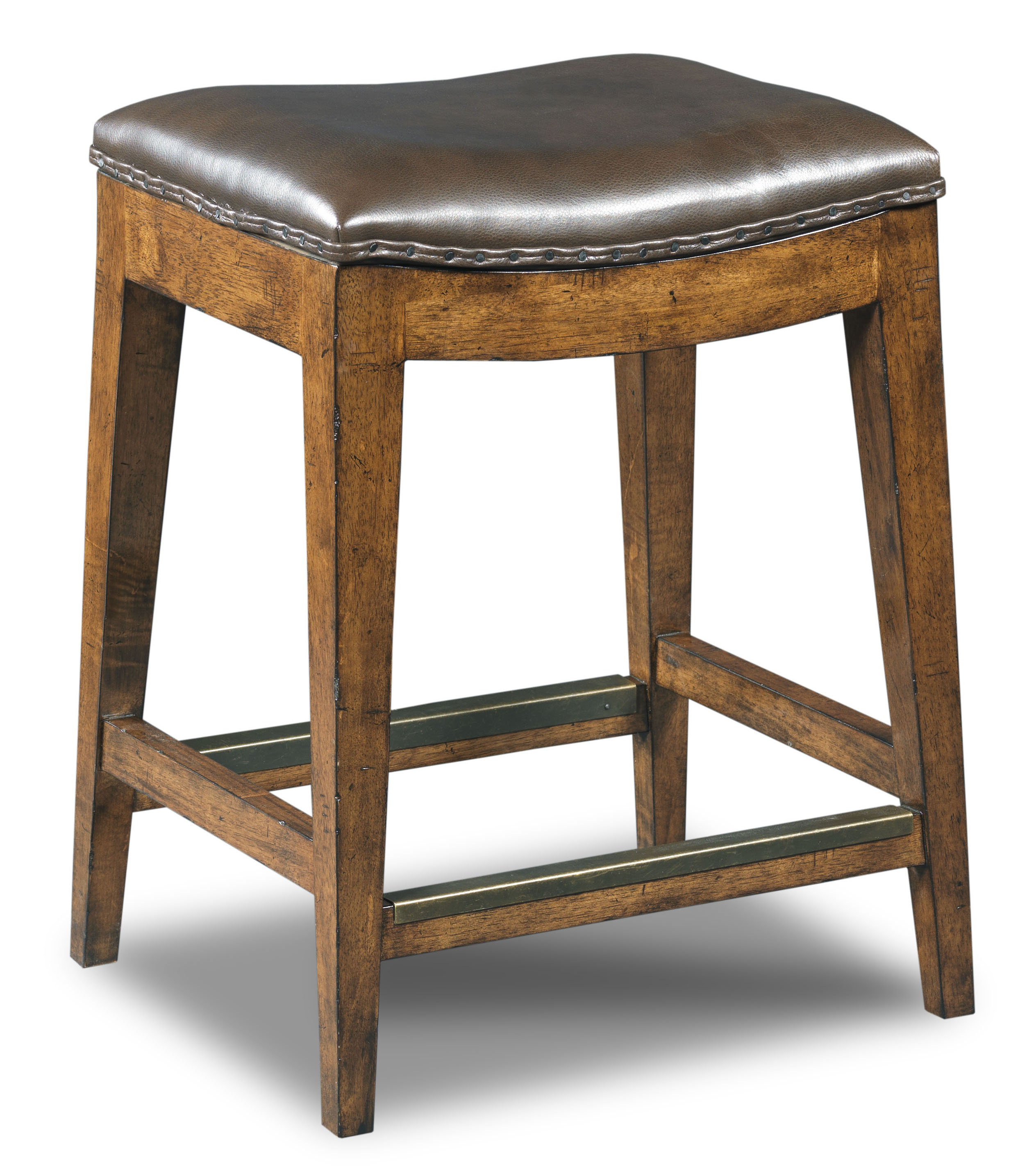 Hooker Furniture Stools Medium Sangria Rec Backless Counter Stool - Item Number: 300-25014