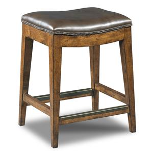 Hooker Furniture Stools Medium Sangria Rec Backless Counter Stool