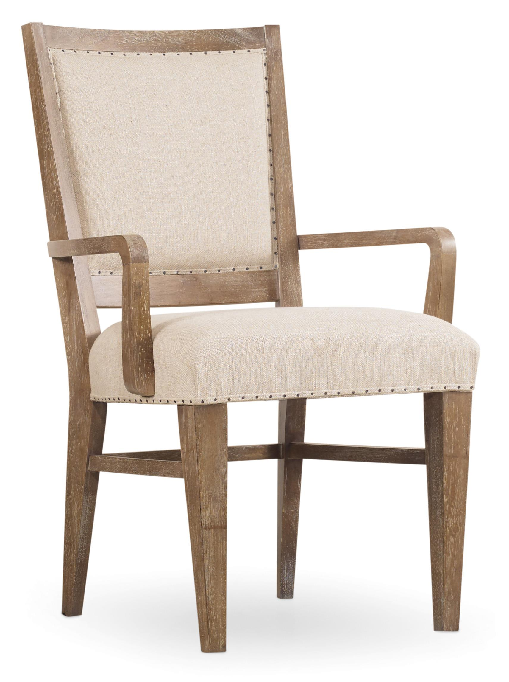 Hooker Furniture Studio 7H Stol Upholstered Arm Chair - Item Number: 5382-75400