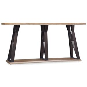 Hooker Furniture Studio 7H Crisscross Sofa Table