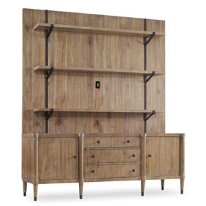 Hooker Furniture Studio 7H Vennesla Credenza with Hutch
