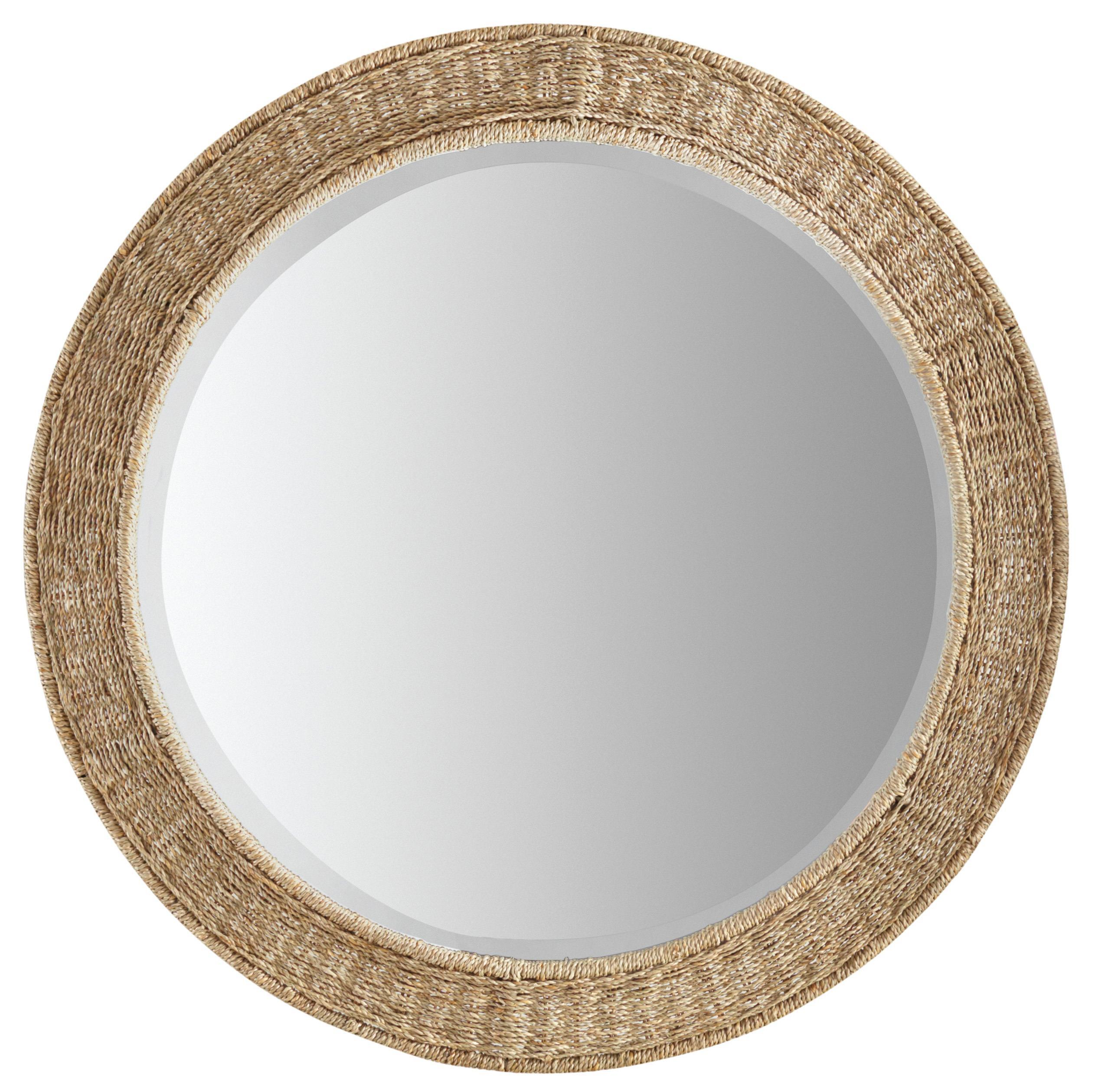 Hooker Furniture Studio 7H Harmony Round Rope Mirror - Item Number: 5382-90007