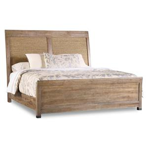Hooker Furniture Studio 7H  King Noble Rope Panel Bed