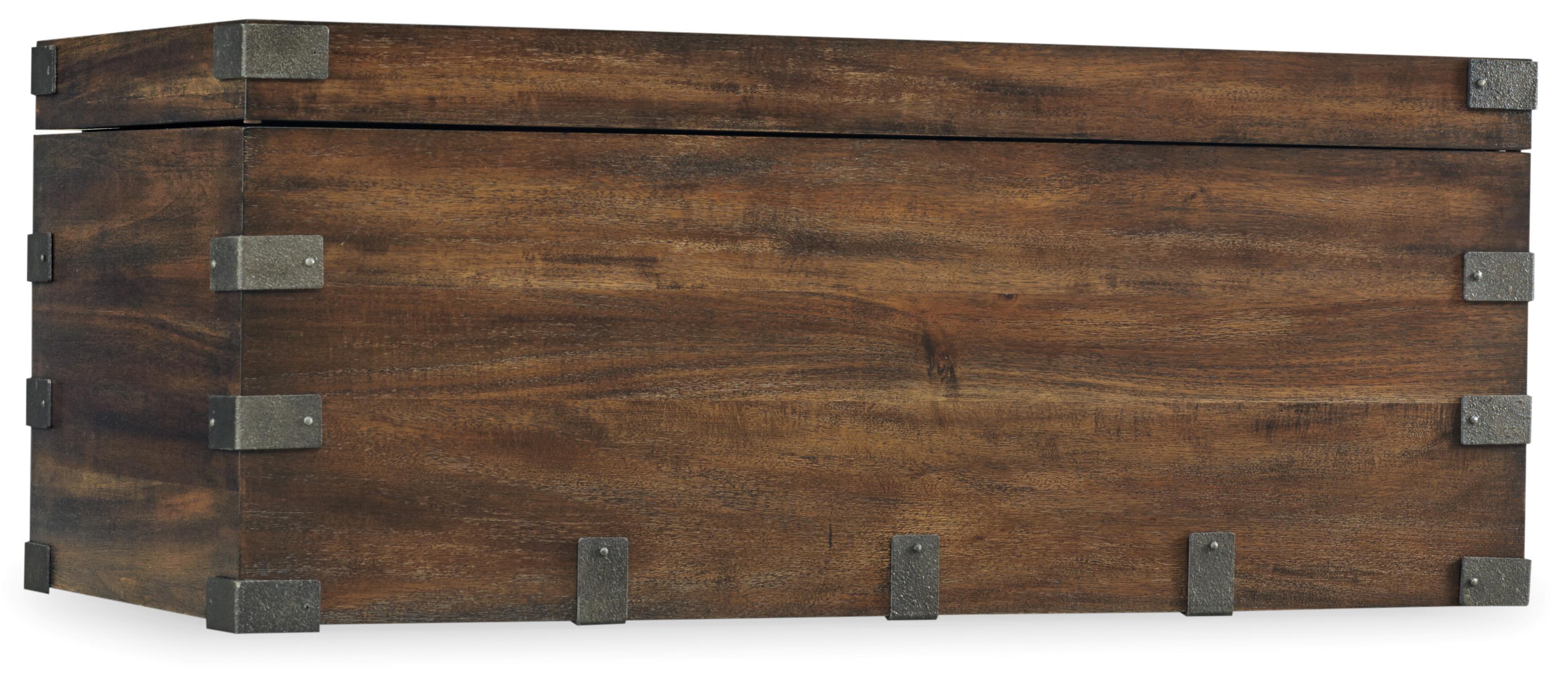 Hooker Furniture Studio 7H Finders Keepers Storage Trunk - Item Number: 5388-50001