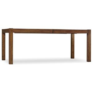 Hooker Furniture Studio 7H Farm-To-Table Rectangle Leg Table