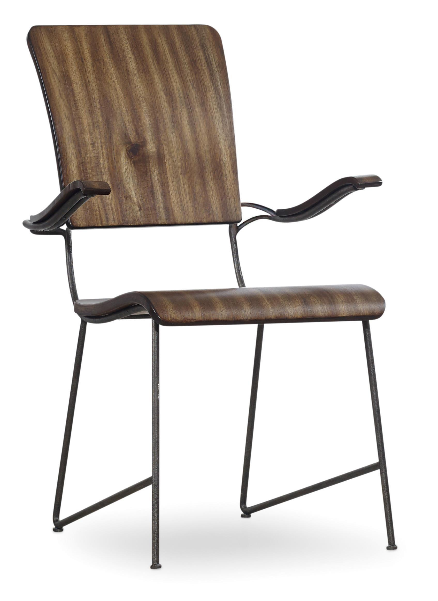 Hooker Furniture Studio 7H Vibe Bentwood Arm Chair - Item Number: 5388-75300