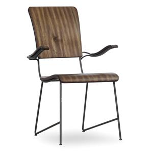 Hooker Furniture Studio 7H Vibe Bentwood Arm Chair