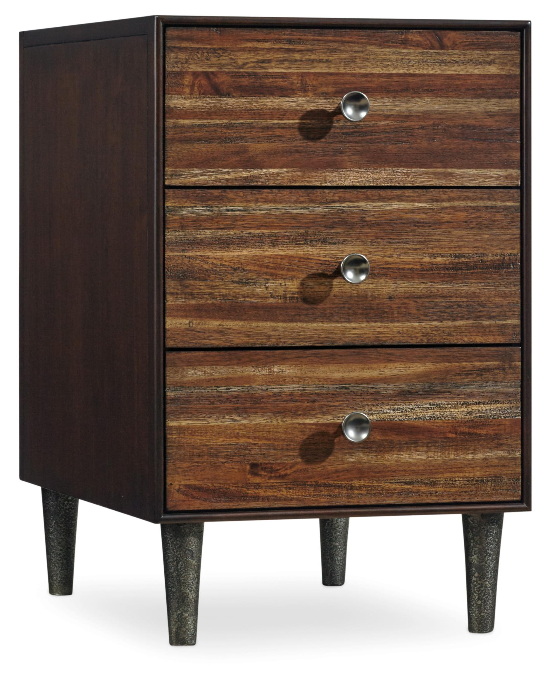 Hooker Furniture Studio 7H Indie Chairside Chest - Item Number: 5388-80114