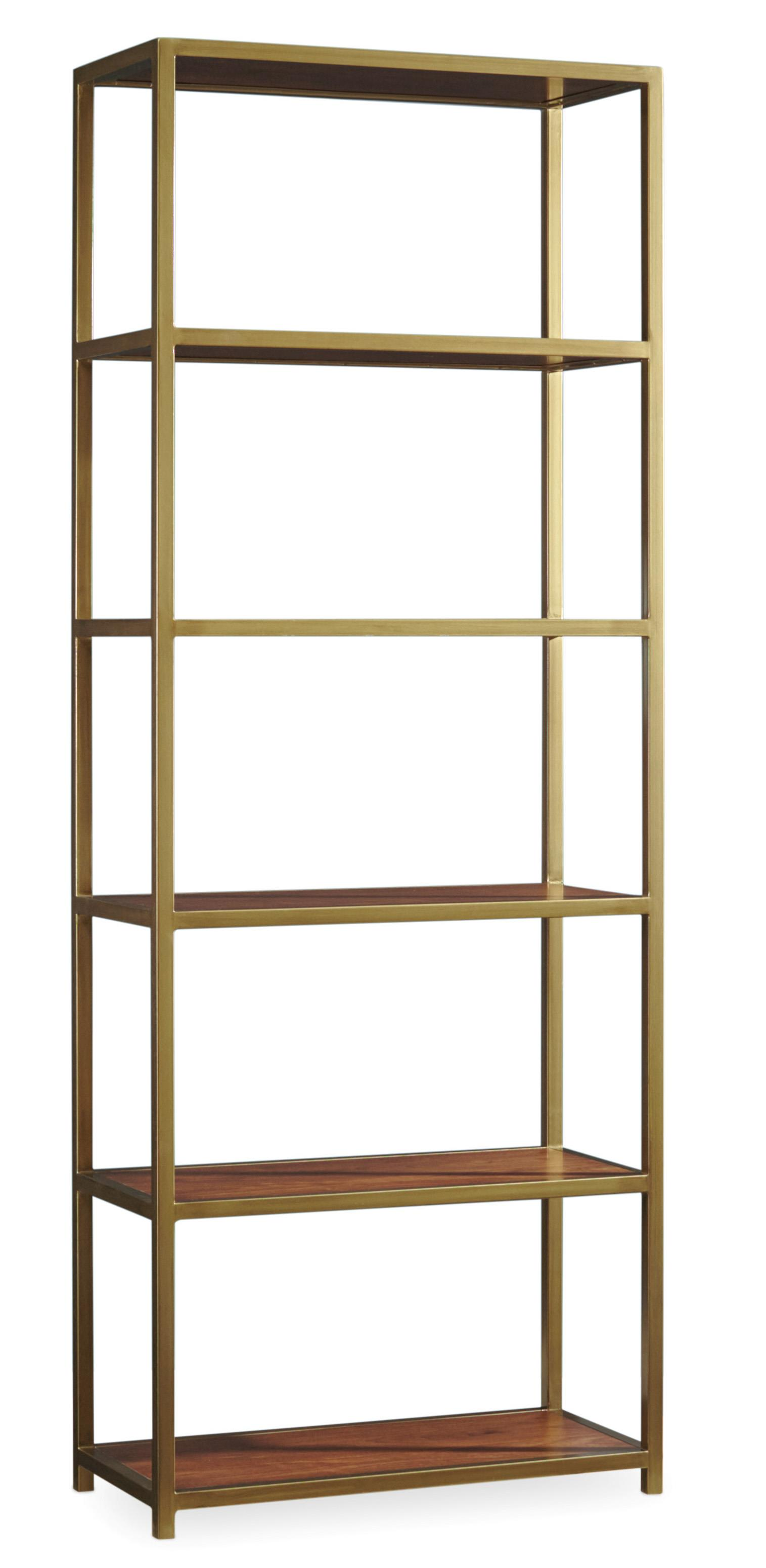 Hooker Furniture Studio 7H NYPL Tall Metal Bookcase - Item Number: 5398-10443