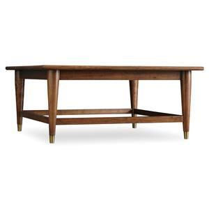 Hooker Furniture Studio 7H Double Latte Square Cocktail Table