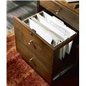 Hooker Furniture Studio 7H Buddy Chairside File Cabinet with Power Station
