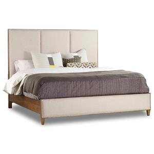 Hooker Furniture Studio 7H King Aon Upholstered Panel Bed