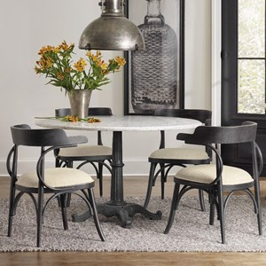 Hooker Furniture Studio 7H 5 Piece Dining Set