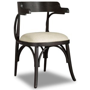 Hooker Furniture Studio 7H Bow Back Chair