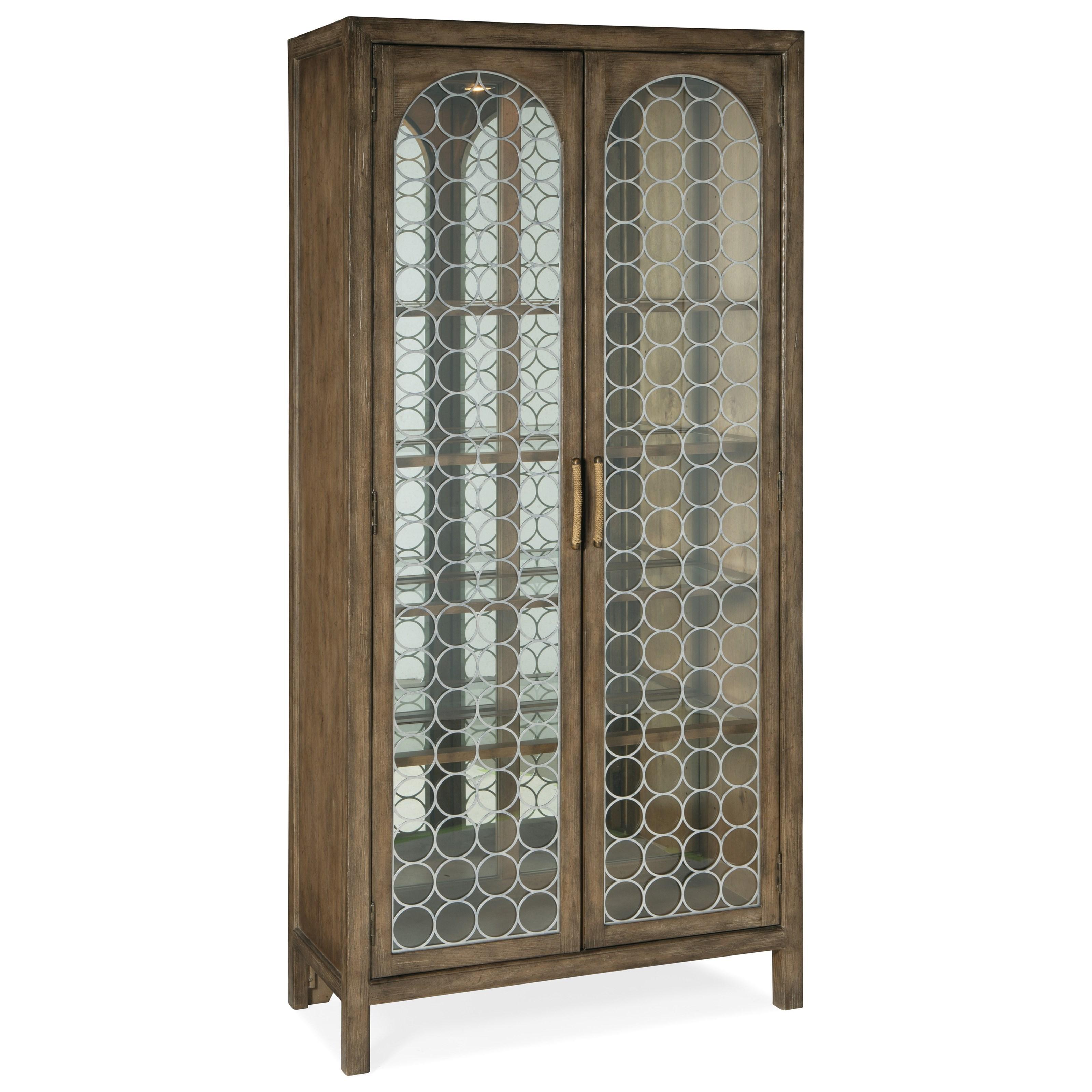 Sundance Display Cabinet by Hooker Furniture at Baer's Furniture