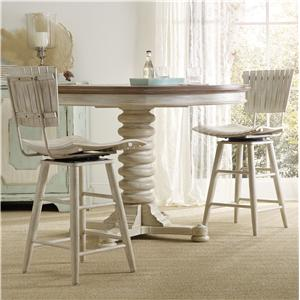 Hooker Furniture Sunset Point 3 Piece Pub Table Set