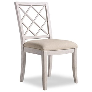 Hooker Furniture Sunset Point Upholstered X-Back Side Chair