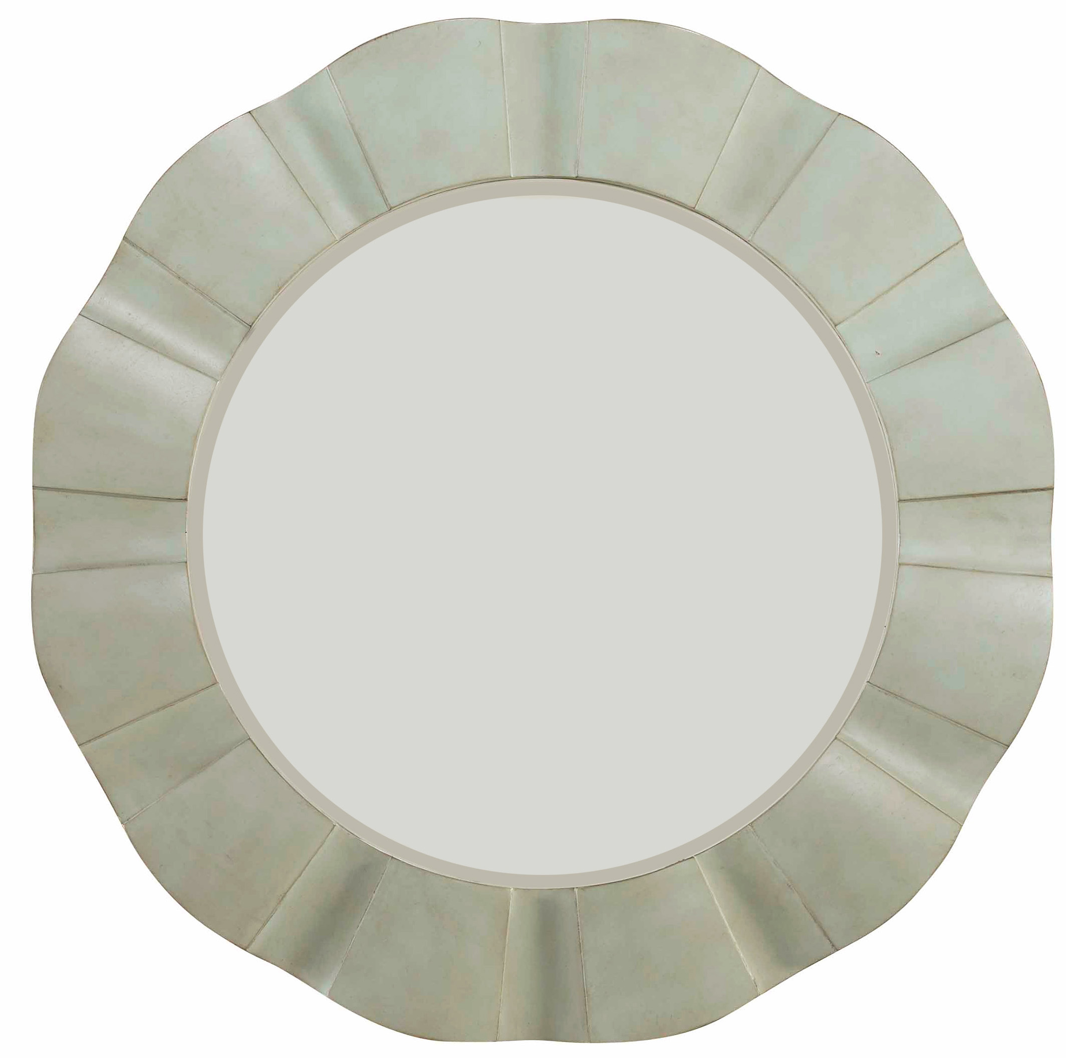 Hooker Furniture Sunset Point Round Wave Mirror - Item Number: 5326-50003