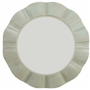 Hooker Furniture Sunset Point Round Wave Mirror