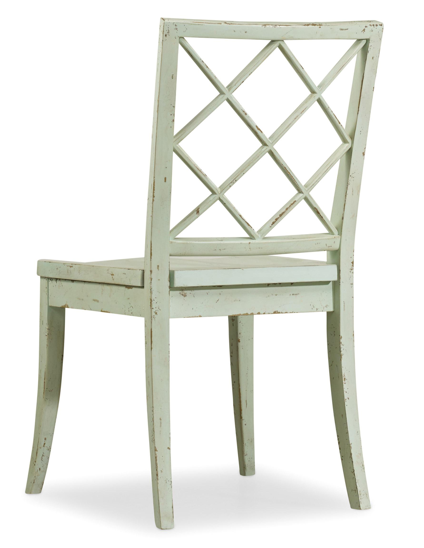 Hooker Furniture Sunset Point X Back Side Chair - Item Number: 5326-75310