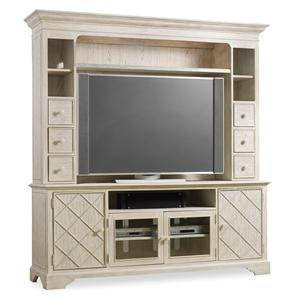 Hooker Furniture Sunset Point Two Piece Entertainment Group