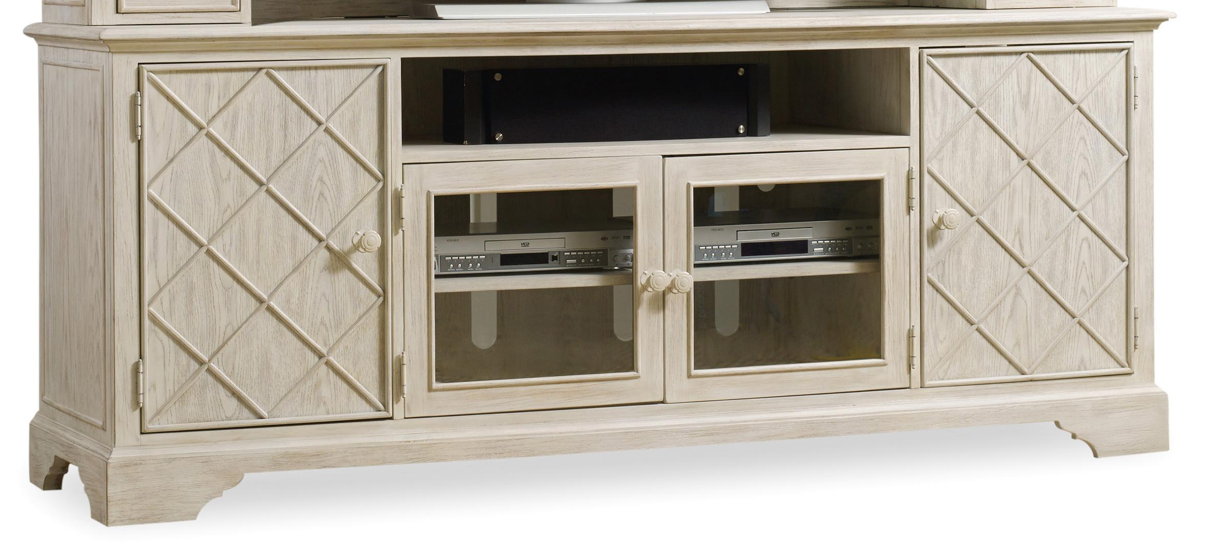 "Hooker Furniture Sunset Point 80"" Entertainment Console - Item Number: 5325-55480"