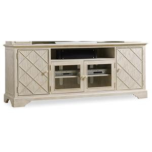 "Hooker Furniture Sunset Point 80"" Entertainment Console"