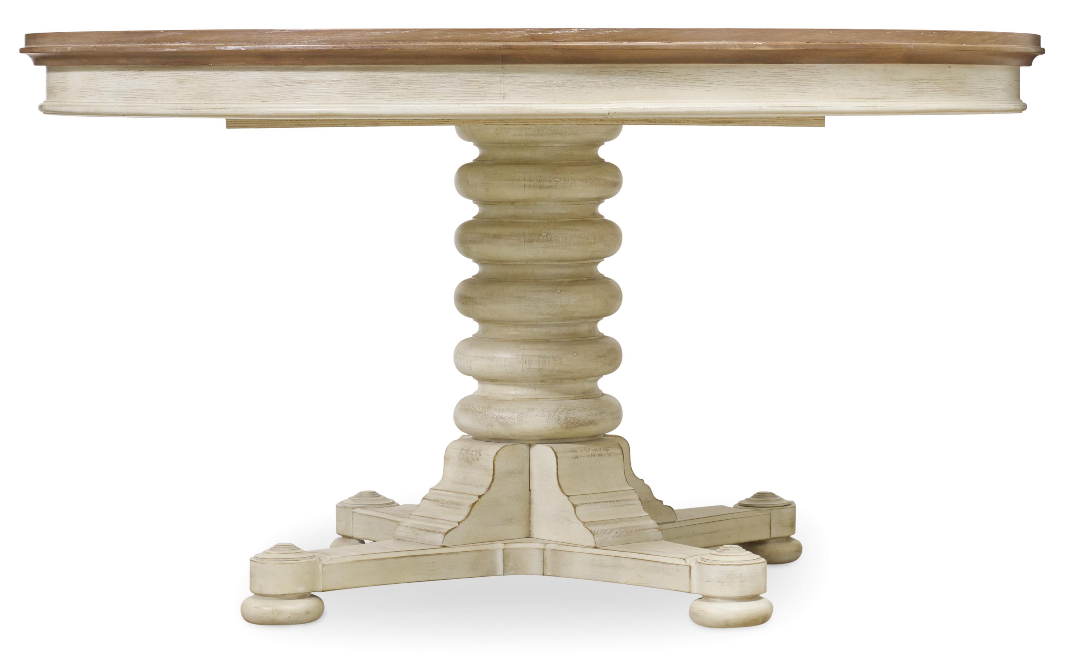 Hooker Furniture Sunset Point Convertible Pedestal Dining Table - Item Number: 5325-75203