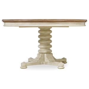 Hooker Furniture Sunset Point Convertible Pedestal Dining Table