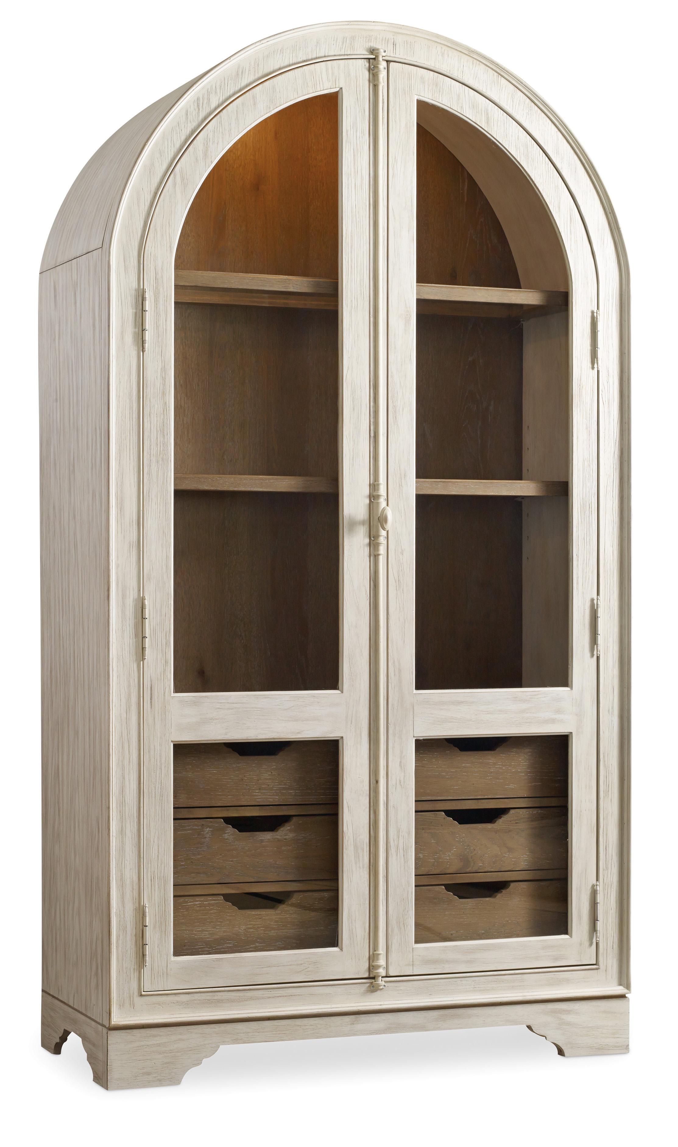 Hooker Furniture Sunset Point Display Cabinet - Item Number: 5325-75908