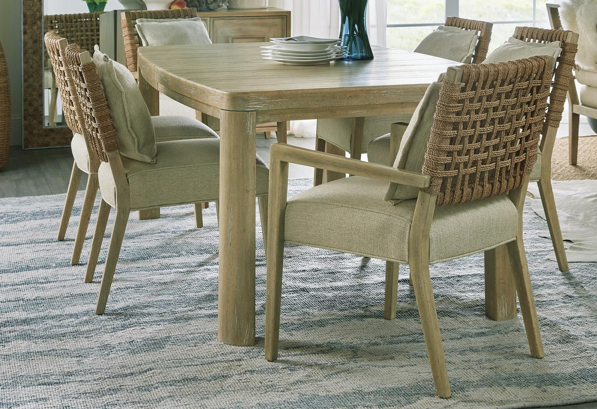 Surfrider 7-Piece Table and Chair Set by Hooker Furniture at Adcock Furniture