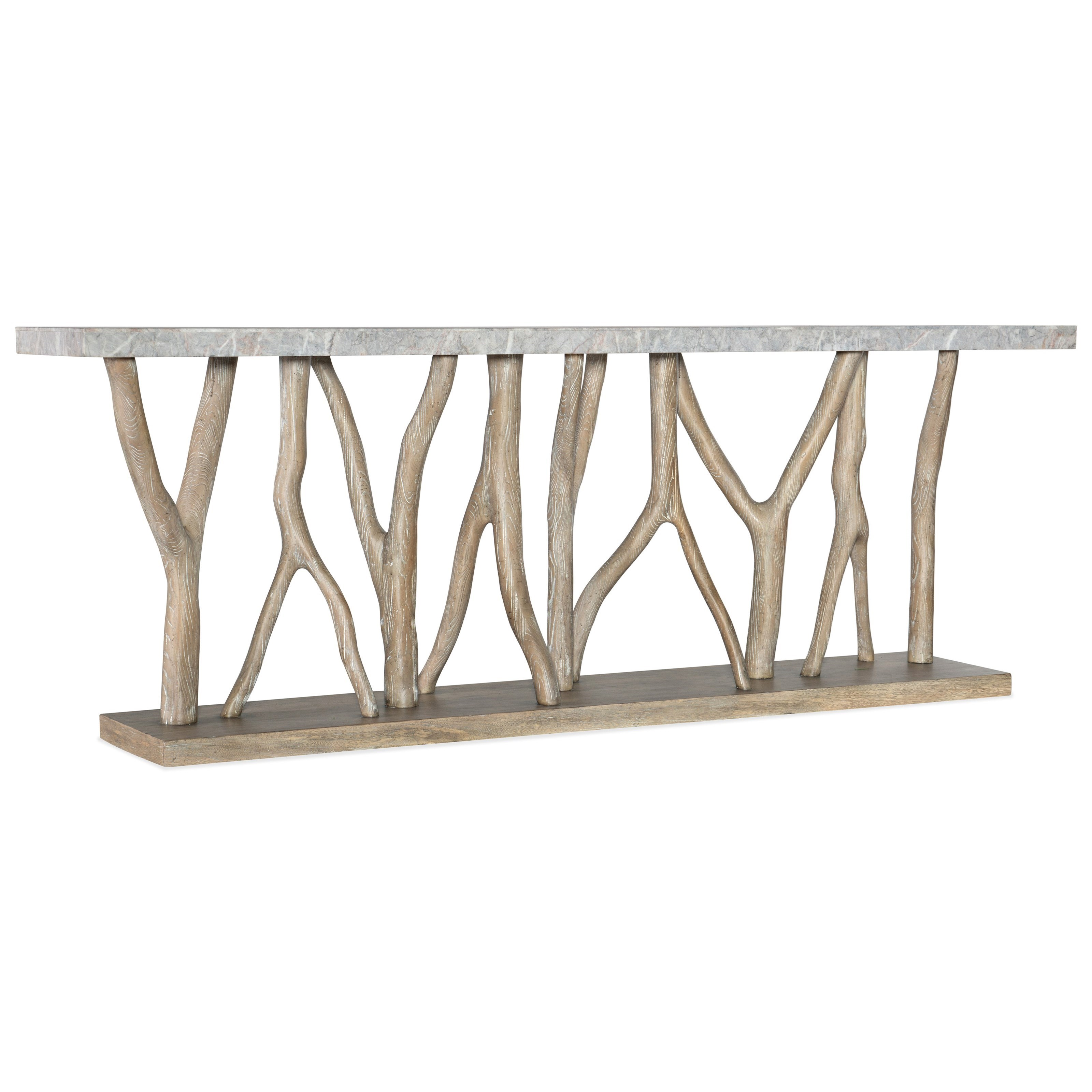 Hooker Furniture Surfrider Coastal Console Table With Stone Veneer Top Belfort Furniture Sofa Tables Consoles