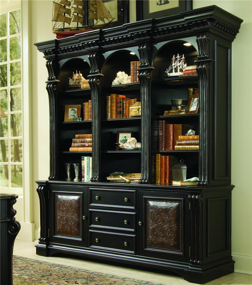Hooker Furniture Telluride Bookcase Combination   Item Number:  370 10 265+267