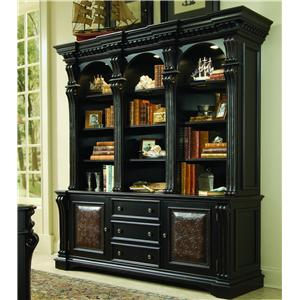 Hooker Furniture Telluride Bookcase Combination