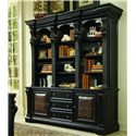 Hooker Furniture Telluride Bookcase Combination - Item Number: 370-10-265+267
