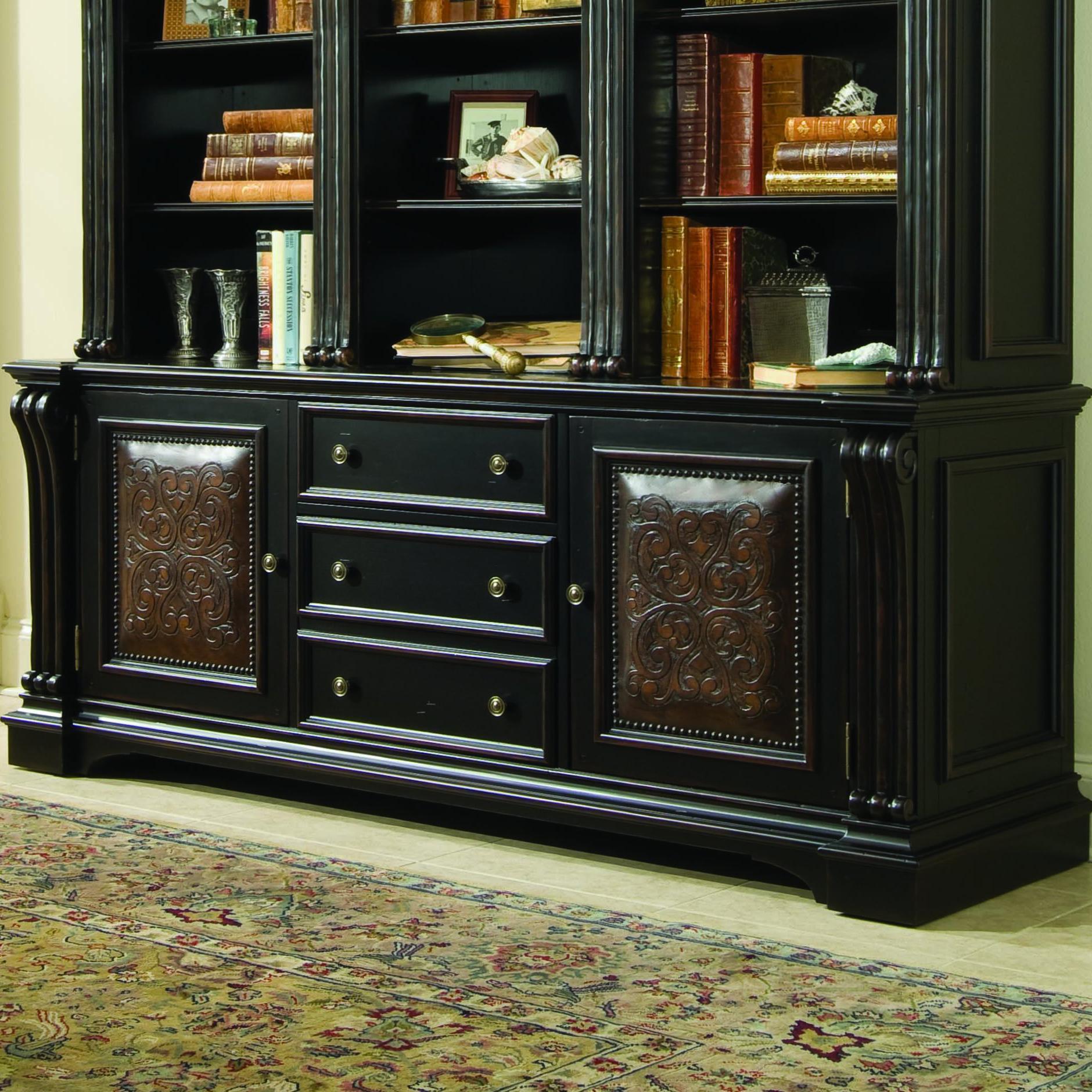 Hooker Furniture Telluride Bookcase Base   Item Number: 370 10 265