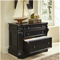 Hooker Furniture Telluride 2 Drawer Locking Lateral File Cabinet