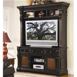 Hooker Furniture Telluride Entertainment Console & Hutch