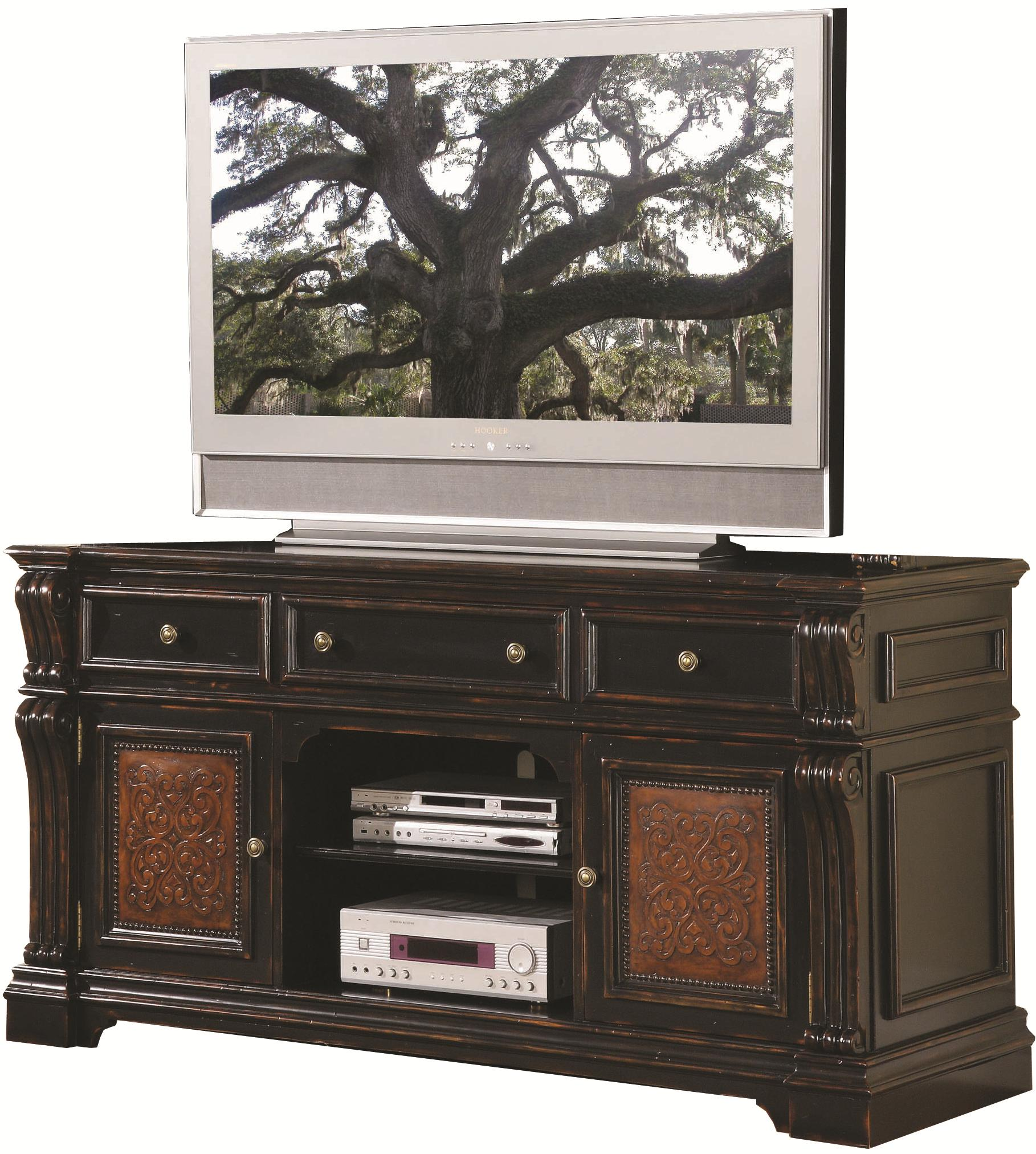 Hooker Furniture Telluride Entertainment Console - Item Number: 370-55-491